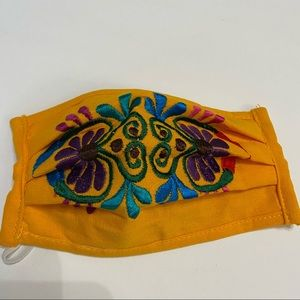BUY 1 Get 1 Free Face Mask Mexican Embroidered New